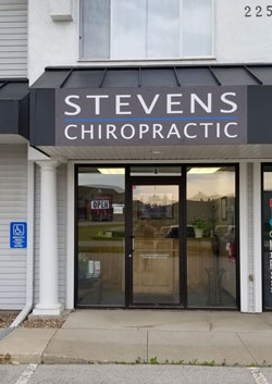 Office Building at Stevens Chiropractic